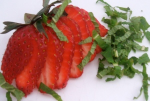 strawberries-and-mint